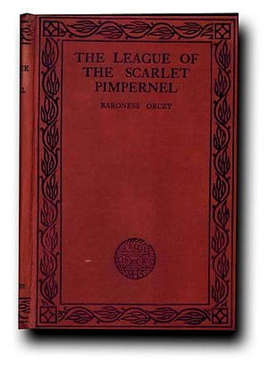 The League of the Scarlet Pimpernel - Cover of the 1919 first edition