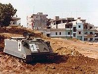 Libanesisches Panzerfahrzeug