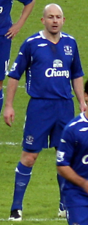 Lee Carsley - Carsley playing for Everton in 2007