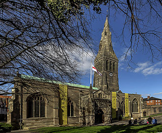 Leicester Cathedral - Image: Leicester Cathedral exterior