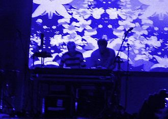 Lemon Jelly - Lemon Jelly, performing at De Montfort Hall on 13 August 2005