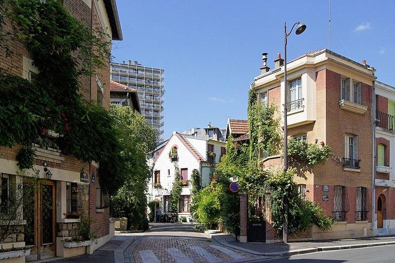 Fichier:Les maisons de la Cité Fleurie dans le 13 ième arrondissement de Paris..jpg