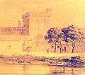 Les remparts Anonyme Archives municipales Avignon 1847.jpg