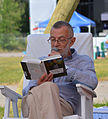 Lev Rubinstein at Open Library fest.jpg