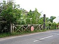 Level crossing gate, Oakington, Cambs - geograph.org.uk - 175826.jpg