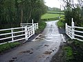 Level crossing near Porth-y-Waen - geograph.org.uk - 390069.jpg
