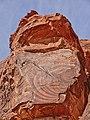 Liesegang rings - Aztec Sandstone.jpg