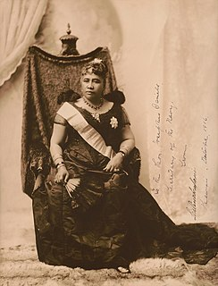 Liliʻuokalani Last monarch of the Hawaiian Kingdom