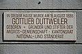Lindenhof - Strehlgasse 13 - Gottlieb Duttweiler 2013-04-15 13-59-48.JPG