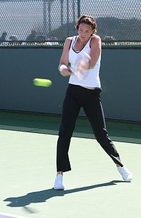 Lindsay Davenport en el Indian Wells 2006.
