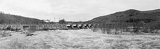Klamath River Hydroelectric Project - Link River Dam, May 1938