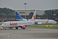 PK-LHW - B739 - Lion Airlines