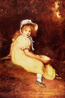 Little Miss Muffet - Sir John Everett Millais