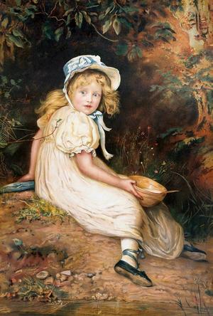 Little Miss Muffet - Sir John Everett Millais