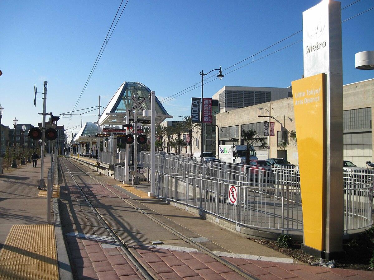 Little Tokyo/Arts District station - Wikipedia