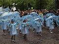 Little samba girls from União da Roseira at Helsinki Samba Carnaval 2015.jpg