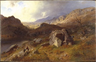 Lledr Valley in Wales