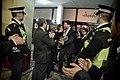 Llegada al John Mackintosh Hall de Fabián Picardo en la mañana en que se conocerán los resultados de las elecciones generales de Gibraltar (23052713640).jpg