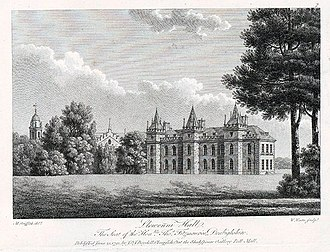 Lleweni Hall - Watts, William, 1752-1851, engraver.