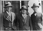 Lloyd Bertaud, Charles Levine, Clarence Chamberlin 1927.jpg
