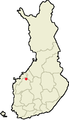 Location of Evijärvi in Finland.png