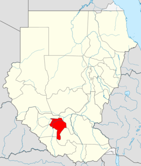 Locator map Sudan Warrap.png