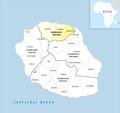 Locator map of Arrondissement Saint-Denis 2018.png