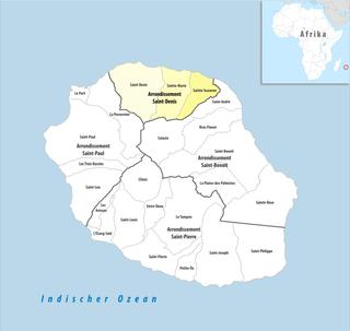 Arrondissement of Saint-Denis, Réunion Arrondissement in Réunion, France