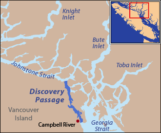 Johnstone Strait - Johnstone Strait and Discovery Passage