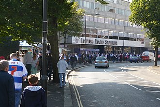Loftus Road - Loftus Road Stadium, South Africa Road entrance.