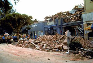Flashbulb memory - Santa Cruz's historic Pacific Garden Mall suffered severe damage during the 1989 Loma Prieta earthquake
