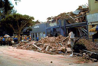Flashbulb memory - Santa Cruz's historic Pacific Garden Mall suffered severe damage during the 1989 Loma Prieta earthquake