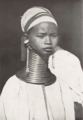 Long Necked Karen, Myanmar (from a book Published in 1931) P.109.png