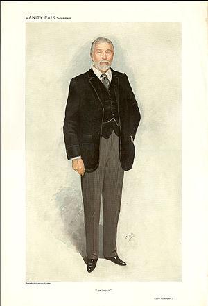 John Jones Jenkins, 1st Baron Glantawe - Lord Glantawe caricatured by WHO for Vanity Fair, 16 November 1910