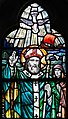 "Loughrea St. Brendan's Cathedral East Aisle ""Naoṁ Pádraıg"" by Alfred Ernest Child Detail Holy Spirit descending upon St. Patrick 2019 09 05.jpg"