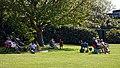 Loughton CC v Ardleigh Green & Havering-Atte-Bower CC spectators at Loughton, Essex, England 02.jpg
