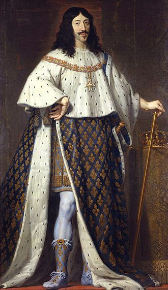 Louis XIII of France - Portrait by Philippe de Champaigne, c. 1630-1639