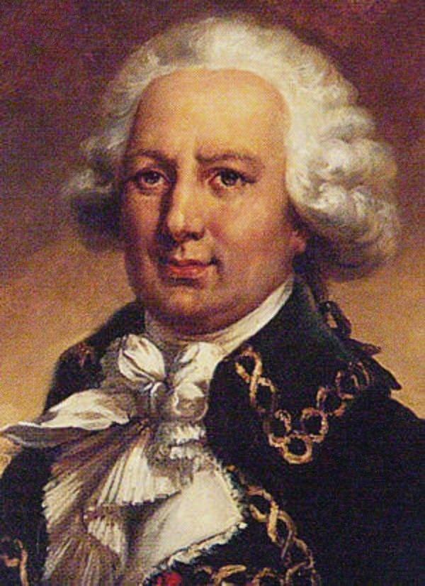 Louis Antoine de Bougainville - Portrait par Jean-Pierre Franquel