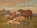 Louis Robbe - Herderin met schaapjes.JPG