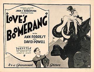 <i>Loves Boomerang</i> 1922 film