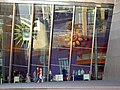 Lowry Theatre fascia windows, Salford Quays, Greater Manchester.jpg