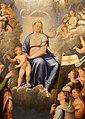 Luca longhi, madonna col bambino con s. caterina, s. orsola e le vergini, 1555, 03.jpg
