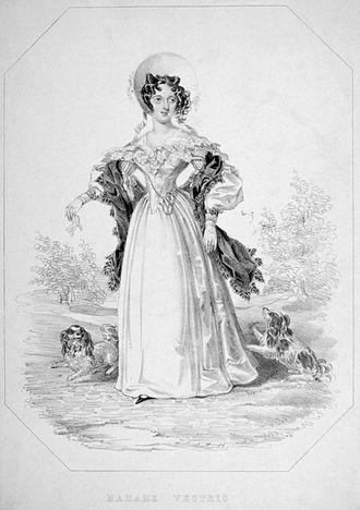 Lucia Elizabeth Vestris - Image: Lucia Elizabeth (née Bartolozzi) Vestris (1797 1856) by Anonymous