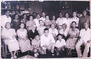 Ludovico Arroyo Banas with Family