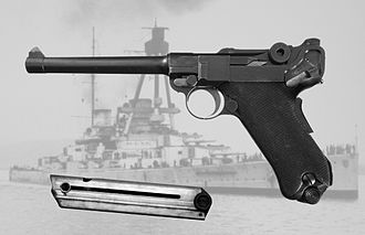 Luger pistol - Luger 04 Pistol of the Imperial German Navy
