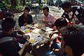 Lunch - Bengali Wikipedia 10th Anniversary Celebration - Jadavpur University - Kolkata 2015-01-10 3303.JPG