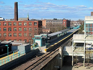 Lynn station MBTA rail station in Lynn, Massachusetts, U.S.