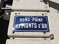 Lyon 9e - Rond-Point des Monts d'Or - Plaque (fév 2019).jpg