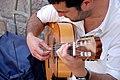 Músic als carrers de Barcelona.JPG