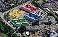 Münster, Studenten-Wohnanlage Boeselagerstraße -- 2014 -- 8238 -- Ausschnitt.jpg